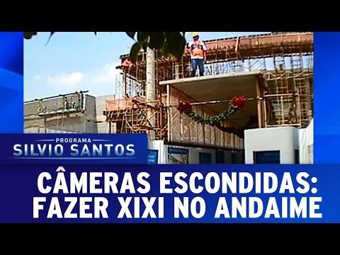 Fazer Xixi no Andaime | Câmeras Escondidas (07/05/17)