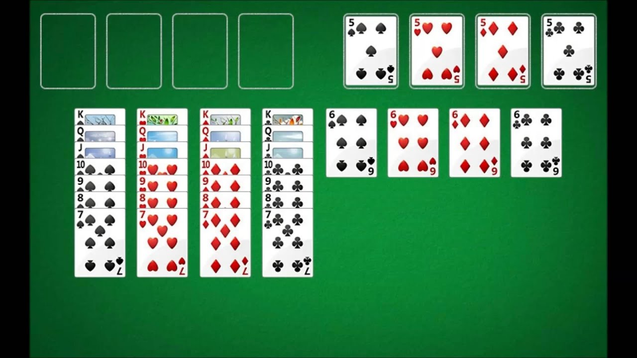 World's Easiest Game of Freecell - YouTube