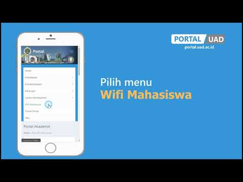 PANDUAN LUPA PASSWORD WIFI UAD
