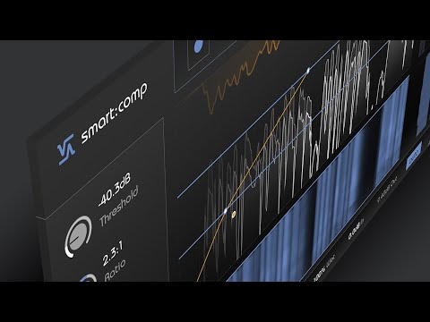 smart:comp by sonible - the spectro-dynamic compressor