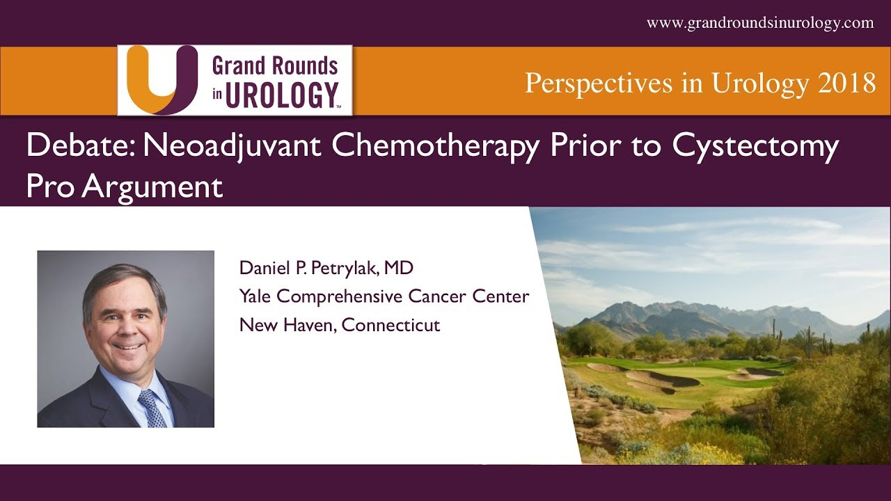 Neoadjuvant Chemotherapy Prior to Cystectomy Pro Argument