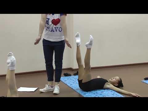 Силовой урок видео хореография