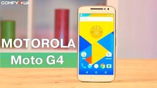 """Motorola Moto G4 (XT1622) - 5,5"""" смартфон с хорошей производительностью - Видео демонстрация"""