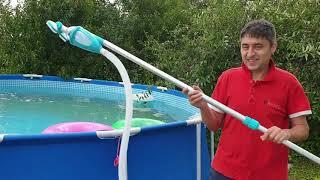 Комплект для чистки бассейнов INTEX/обзор/распаковка/как почистить бассейн