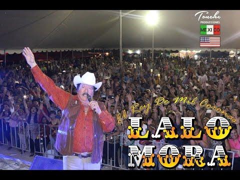 Lalo Mora Laurita Garza en La Feria de Santa Catarina