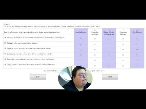 Walmart Assessment Test Part 1 - YouTube