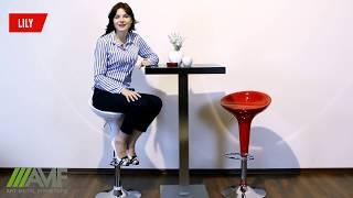 Барный стул Lily - обзор. Высокие барные стулья от Mebelmart.com.ua