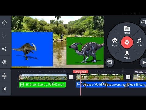 KineMaster Green Screen - Tutorial 2019 (Step by Step) | Use Chroma Key  Feature on Android