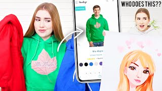 I BOUGHT MY FAKE MERCH !!.. also I made REAL merch :)