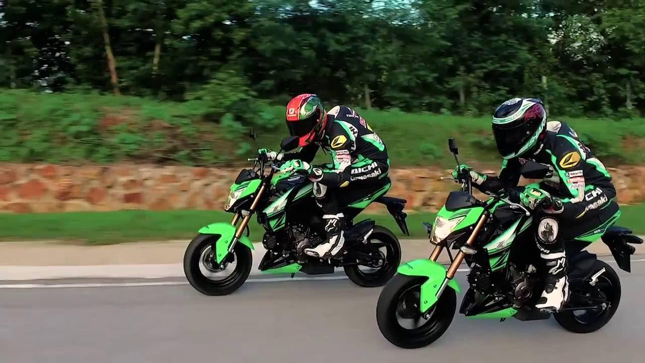 Kawasaki Z125 Krt Edition Youtube