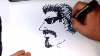 How to draw a Gangster Cholo