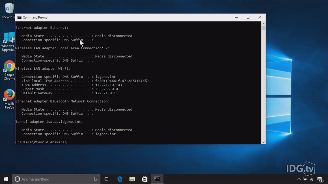 How to call the command line in Windows 10: instruction