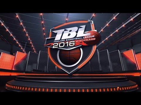 Hitech VS OSK [ JUN 26 2016 ] Thailand Basketball League (TBL)2016