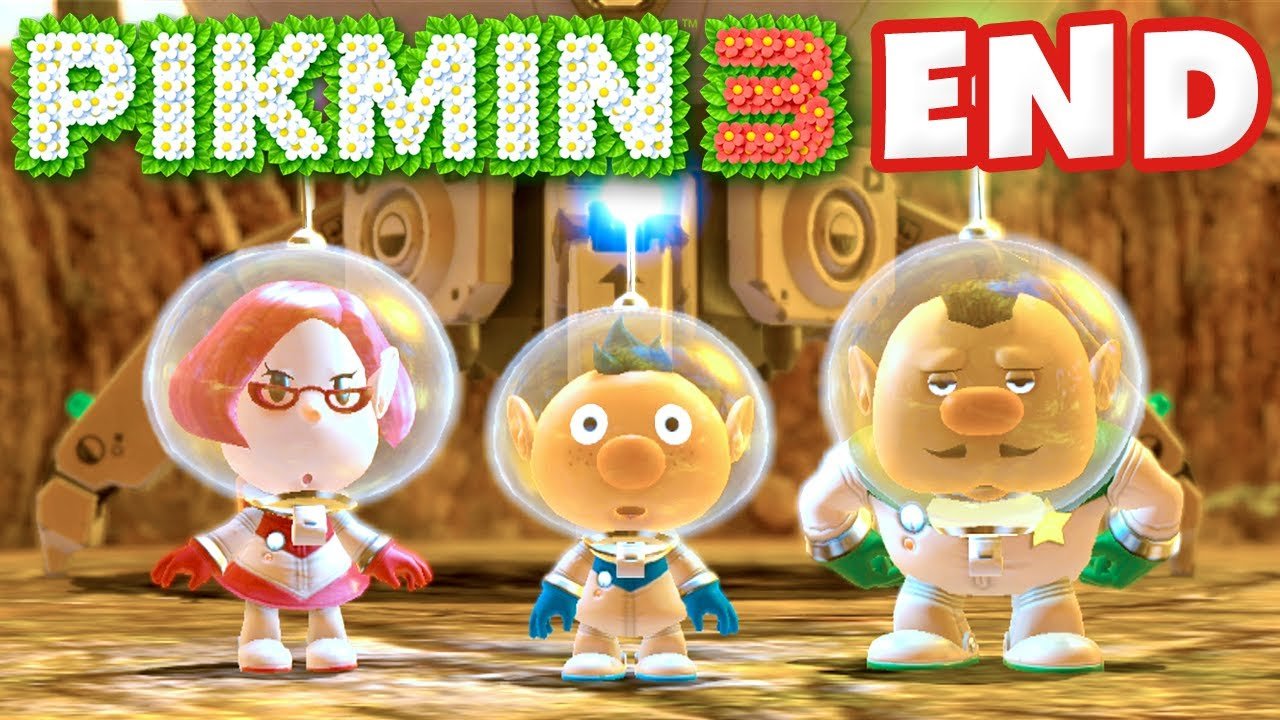 Pikmin 3 Day 21 And Day 22 Plasm Wraith Boss And Ending Nintendo Wii U Gameplay Walkthrough Youtube