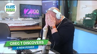 Greg T Discovers a New Power | Elvis Duran Exclusive