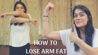 How To Lose Arm Fat Fast At Home | 4 Simple Exercises | WORKitOUT