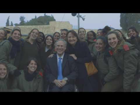 Signing Anti-BDS Legislation Into Law