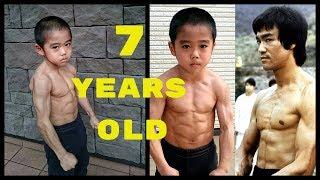 Baby Bruce Lee Training - The Amazing Ryusei Imai | Fitness Films