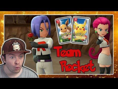 TEAM ROCKET, ZAPDOS & MISTY! Pokémon Lets Go Pikachu & Eevee 🎮 Trailer  Reaktion