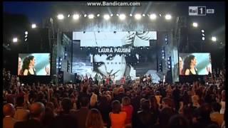 Laura Pausini @ Music Awards 03/06/2014 RAI1