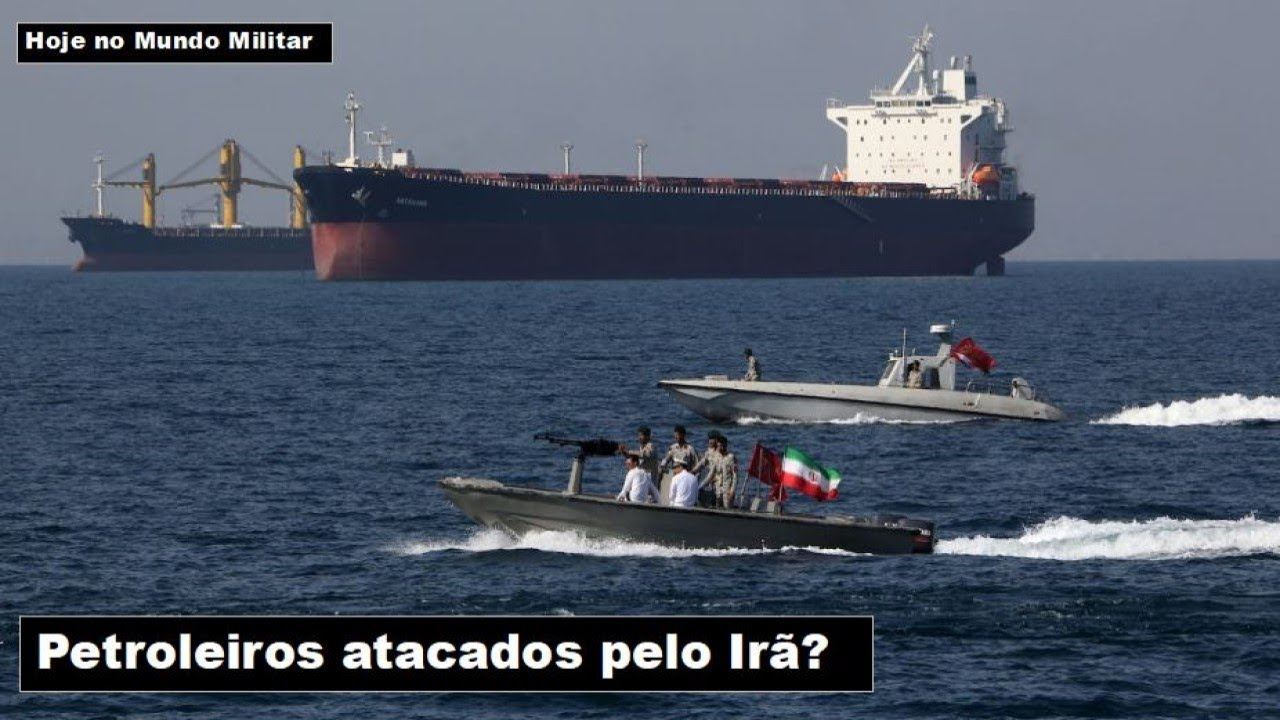 Petroleiros atacados pelo Irã?