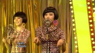 Wonder Girls - Nobody @ Live (28-09-08) SBS