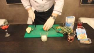 Рецепт двухслойной панакоты с хурмой