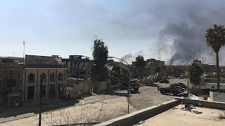 Западный Мосул  силы быстрого реагирования освободили ключевые здания
