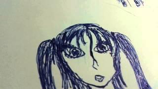 Как я рисую аниме