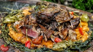 Best Lamb Roast Ever! - Slowcooked in the Forest