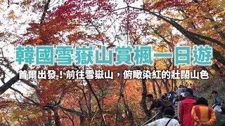 【韓國旅遊攻略】首爾雪嶽山賞楓纜車一日遊,首爾市區出發!前往賞楓必去絕美景點|KKday