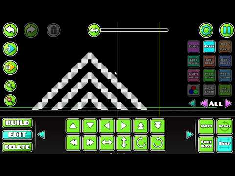 Geometry Dash (2.11) - Tutorial - How To Make Nine Circles Wave. (The Easy Way)