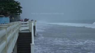 Typhoon Karen / Sarika Makes Landfall On Aurora Philippines