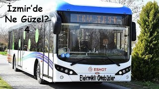 İzmir Elektrikli Otobüs Filosu