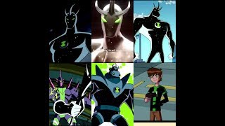 Ben 10   All Alien X Transformations  Ben 10 Alien Force   Ben 10 Ultimatrix   Ben 10 Omniverse [HD]