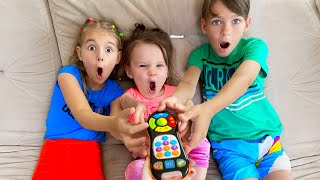 Five Kids Magic TV remote Song + more Children's Songs and Videos