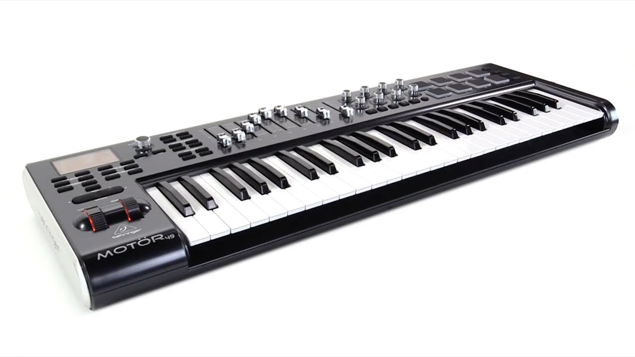 Mot R 49 49 Key Usb Midi Master Controller Keyboard With