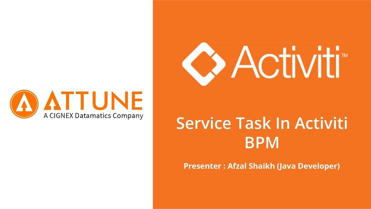 Download Service Task in Activiti BPM