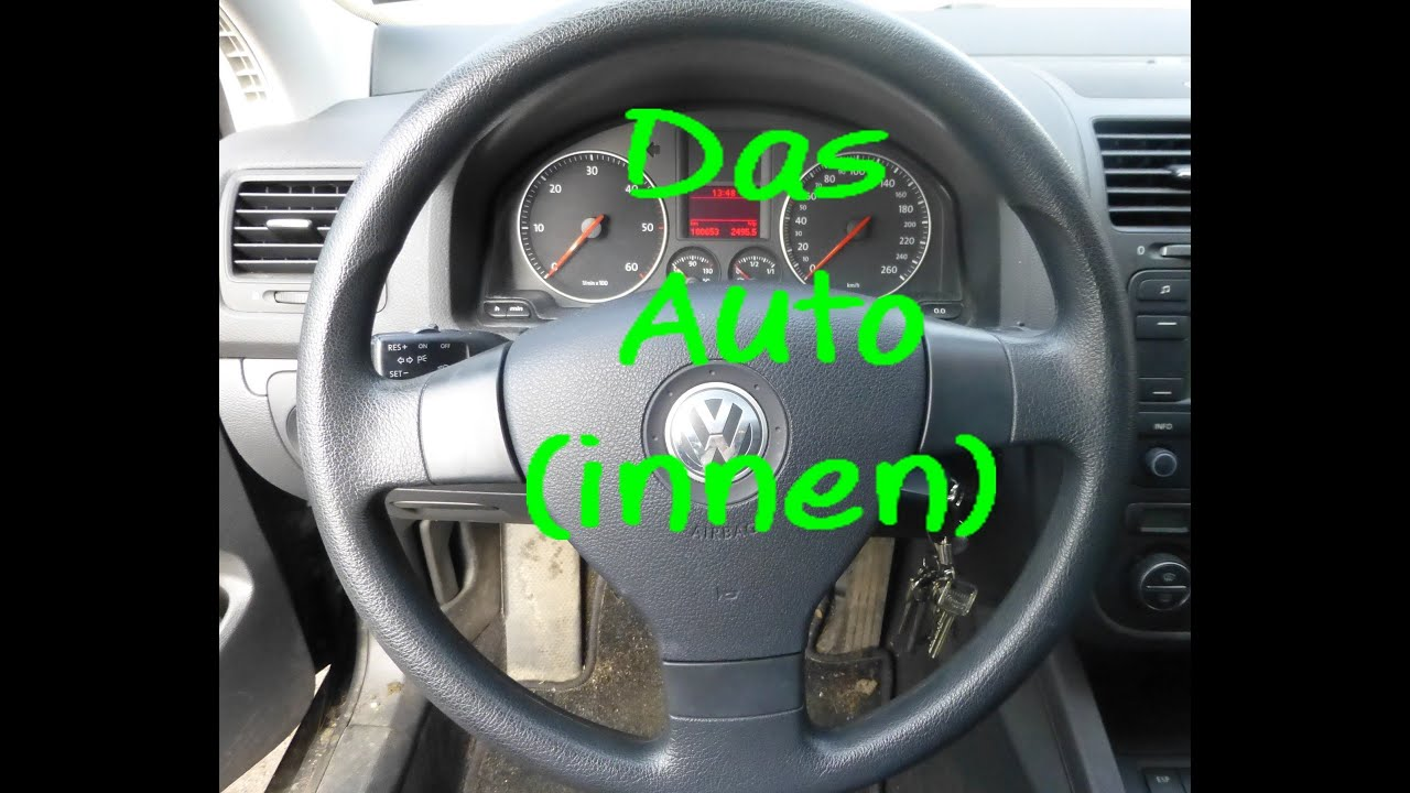 Learn German: Das Auto (innen) - YouTube