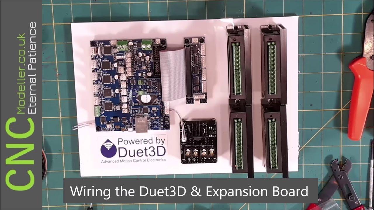 CNC Modeller: Wiring the Duet3D 3D Printer Controller & Expansion Board