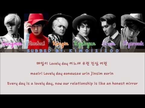 Super Junior - This Is Love [Hangul/Romanization/English] Color & Picture Coded HD
