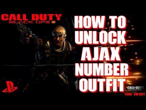 How To Unlock Ajax numbers outfit Black Ops 4 BO4 [PS4] [ENG]