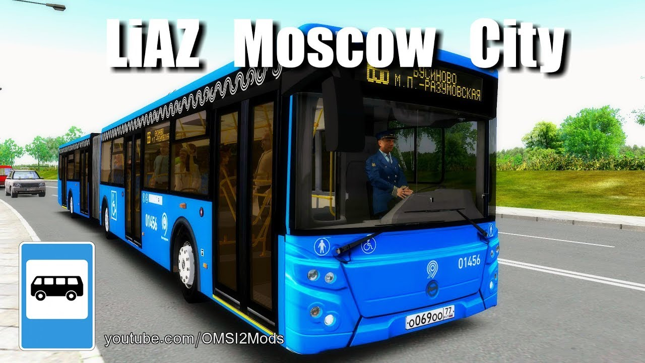The OMSI 2 Bus Simulator - LiAZ 6213 65-77 Moscow City by OMSI 2 Bus  Simulator Mods