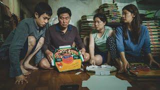 「貧しい家族」が「裕福な家族」にパラサイト計画/映画『パラサイト 半地下の家族』予告編