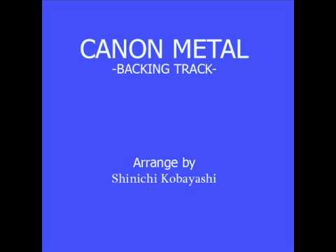 Canon Metal Backing Track
