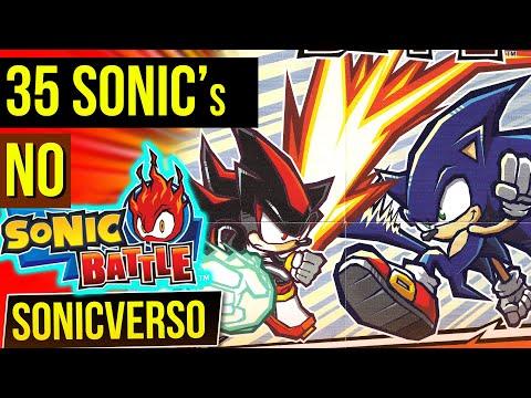 35 SONICs No Sonic Battle 🔥| SONICVERSO