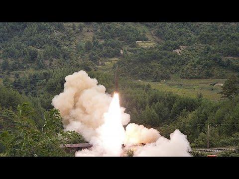 شاهد: فيديو جديد للقطار الكوري الشمالي قاذف الصواريخ الباليستية …  - نشر قبل 25 دقيقة