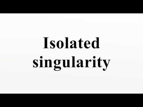 Isolated singularity