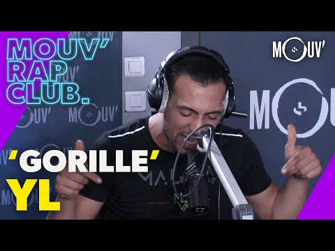 Youtube: YL : « Gorille » (Live @Mouv' Rap Club)