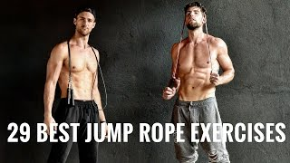 29 Best Jump Rope Exercises For Fat Loss
